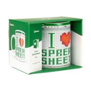 I Love Spread Sheets 11 oz. Mug