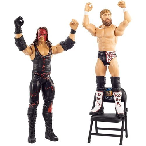 WWE WrestleMania Kane and Daniel Bryan Action Figure 2-Pack