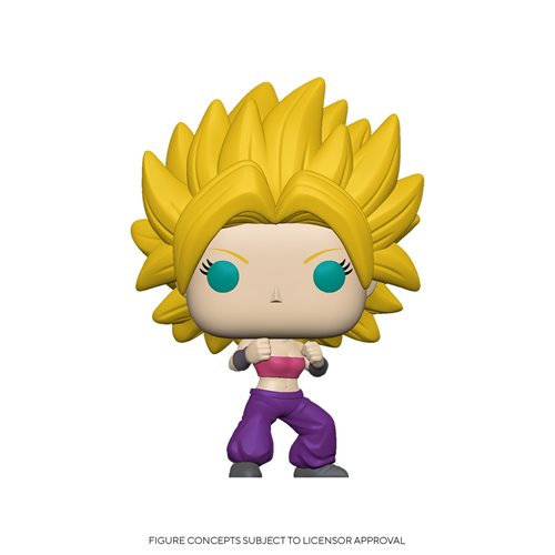 Dragon Ball Super Caulifla Pop! Vinyl Figure, Not Mint