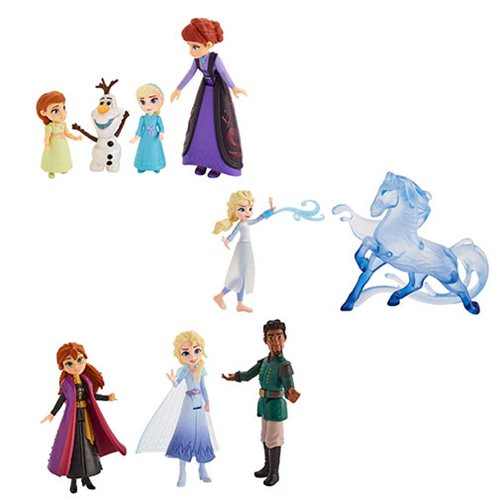 Frozen 2 Small Doll Story Moments Wave 1 Case