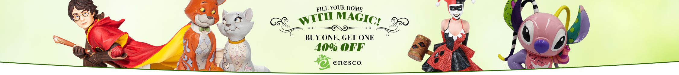 Buy One Get One 40% Off Enesco