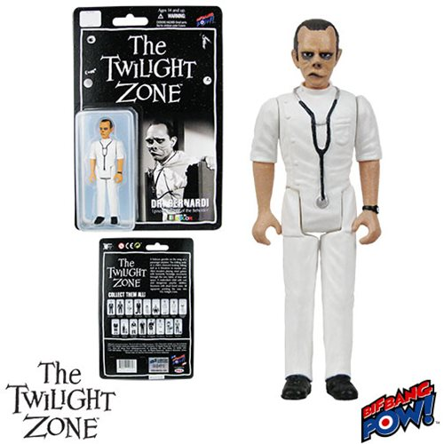 The Twilight Zone Eye of the Beholder Doctor Bernardi 3 3/4-Inch Action Figure In Color Series 2