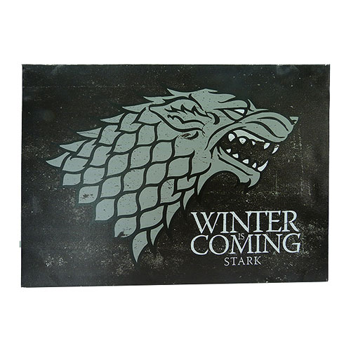 Game of Thrones Stark Sigil Canvas Art