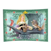 Sleeping Beauty In The Woods Curved Glass StarFire Print
