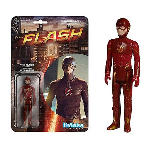 Flash TV Series ReAction 3 3/4-Inch Retro Action Figure