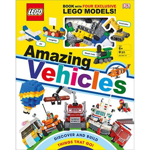 LEGO Amazing Vehicles Hardcover Book