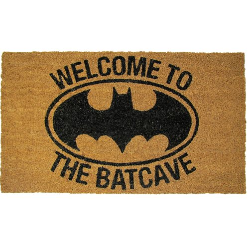 Batman Welcome to the Batcave Coir Doormat