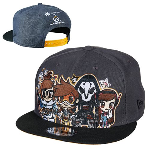 Tokidoki Overwatch 940 Snap-Back Cap - Entertainment Earth 51bd46def7c