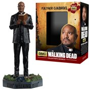 The Walking Dead Father Gabriel Figure with Collector Magazine #11