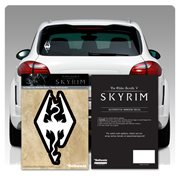 The Elder Scrolls V: Skyrim Imperial Dragon White Window Decal