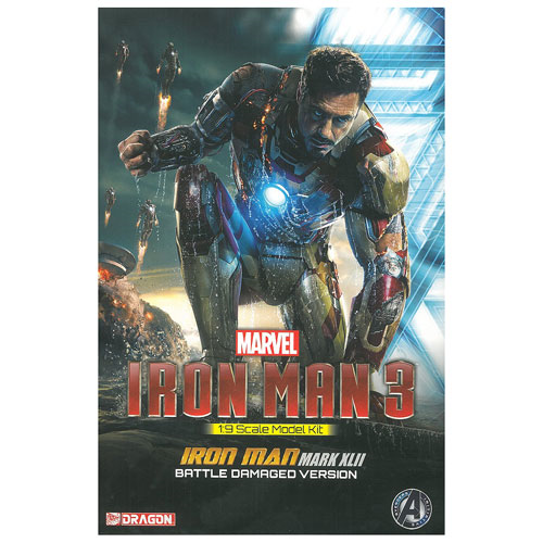 Iron Man 3 Mark 42 Battle Damaged Version Model Kit