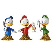 DuckTales Huey Dewey and Louie Grand Jester Mini-Bust