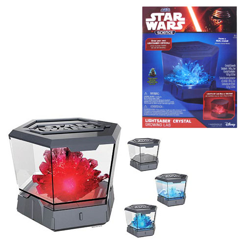 Star Wars Lightsaber Crystal Growing Lab