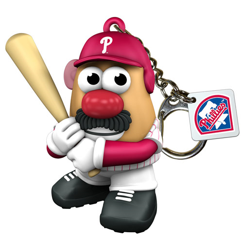 MLB Philadelphia Phillies Mr. Potato Head Key Chain