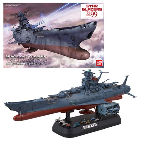 Starblazers 2199 Yamato 2199 Cosmo Reverse Version 1:1000 Scale Model Kit