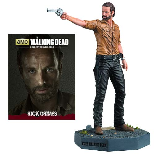 The Walking Dead Rick Grimes Figure with Collector Magazine #1