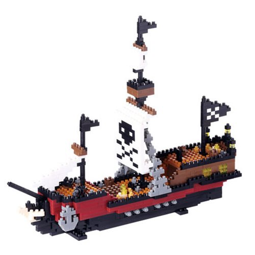 Pirate Ship Nanoblock Constructible Figure