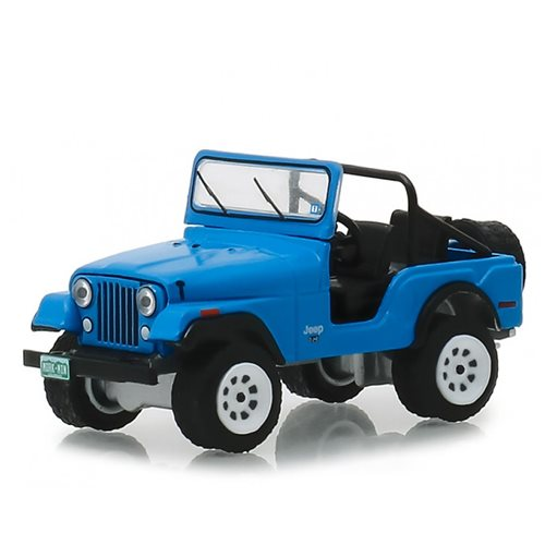 Mork & Mindy (TV Series) - 1972 Jeep CJ-5 1:43 Scale Die-Cast Metal Vehicle