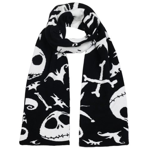 Nightmare Before Christmas Beanie and Scarf Combo