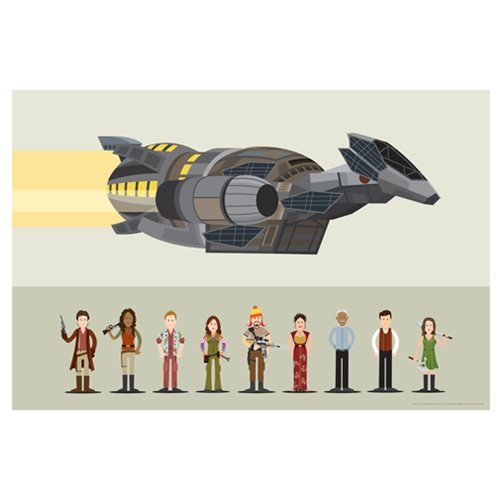 Firefly Crew by Scott Park Lithograph Art Print