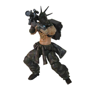 Lost Planet 2 Vagabundo 4-Inch Action Figure