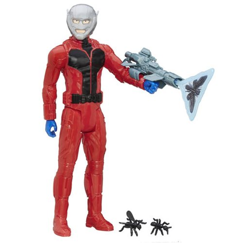 Avengers Titan Hero Series Ant-Man 12-Inch Action Figure with Gear
