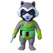 Guardians of the Galaxy Rocket Raccoon Marvel Hero Sofubi Vinyl Figure - Previews Exclusive