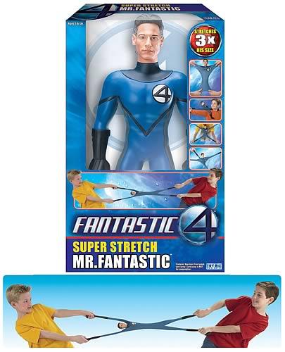 Fantastic Four Movie 14 Inch Super Stretch Mr Fantastic