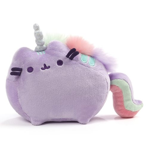Pusheen the Cat Pusheenicorn Sound Toy Purple Plush
