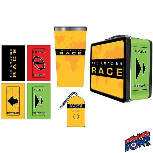 The Amazing Race Tin Tote Gift Set