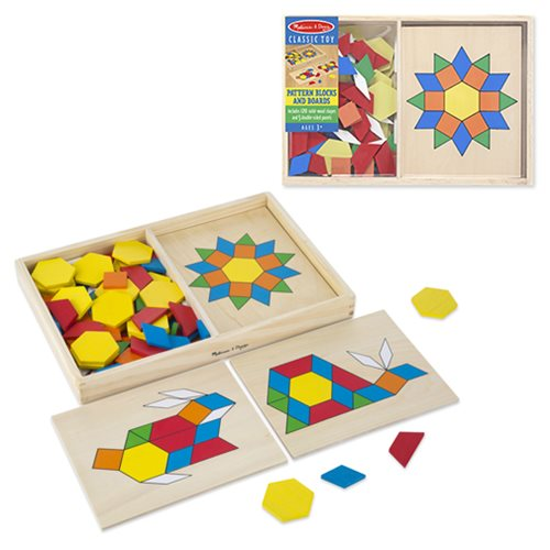 Pattern Blocks And Boards