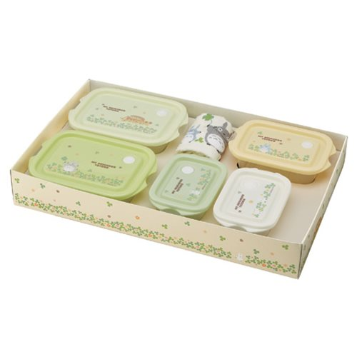 My Neighbor Totoro Totoro Clovers 6-Piece Lunch Gift Set
