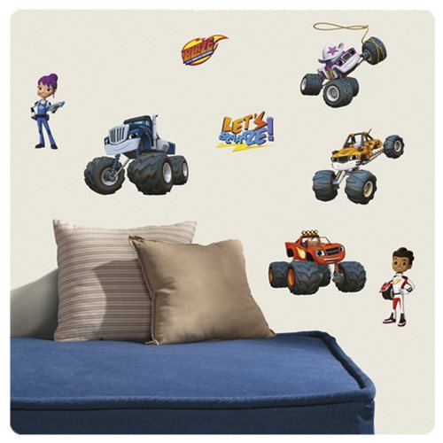 Blaze and the Monster Machines Peel and Stick Wall Decals