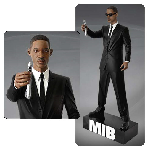 Men In Black 1:4 Scale Agent J 20-Inch Statue