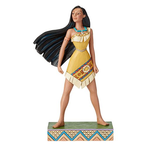 Disney Traditions Pocahontas Princess Passion Pocahontas Proud Protector by Jim Shore Statue