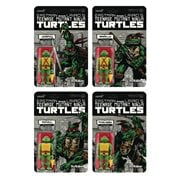 Teenage Mutant Ninja Turtles Mirage Variant 3 3/4-Inch ReAction Figure Boxed Set of 4