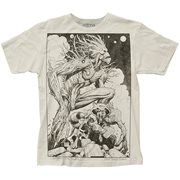 Guardians of the Galaxy Groot and Rocket Sketch T-Shirt