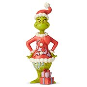 Dr. Seuss The Grinch with Big Heart by Jim Shore Statue