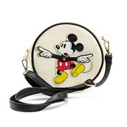 Mickey Mouse Clock Arms Crossbody Purse