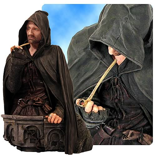 Lord of the Rings Aragorn Strider Ringbearer Mini Bust