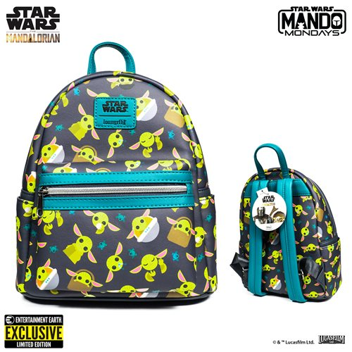 Star Wars Mandalorian The Child Mini-Backpack EE Exclusive
