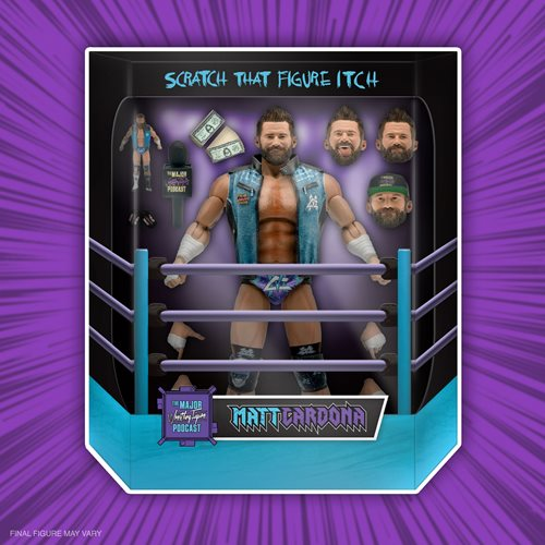 Major Wrestling Podcast Ultimates Matt Cardona 7-Inch Action Figure