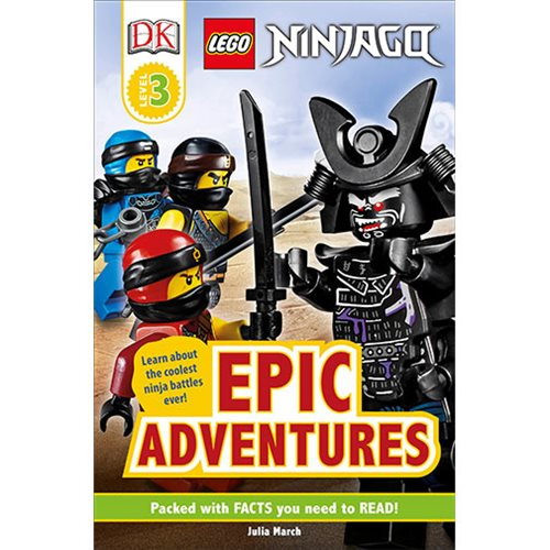 LEGO Ninjago: Epic Adventures DK Readers 3 Hardcover Book