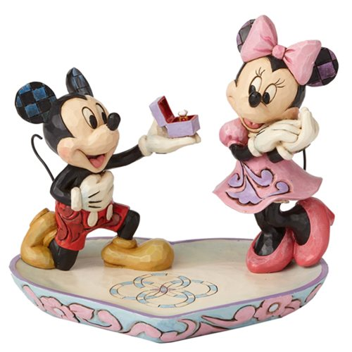 Disney Traditions Mickey Mouse and Minnie Mouse A Magical Moment Statue