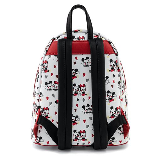 Mickey and Minnie Mouse Hearts Mini-Backpack