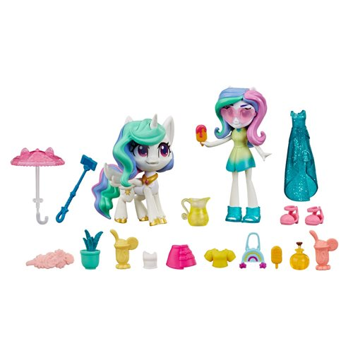 My Little Pony Equestria Girls Magic Mirror Princess Celestia Doll, Not Mint