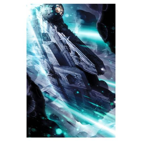 Star Wars Gambler's Rush Canvas Giclee Art Print