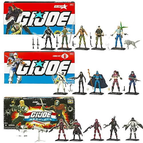G.I. Joe Action Figure Collector 5-Pack Wave 2 Case