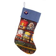 Lionel Train Stripes 19-Inch Stocking