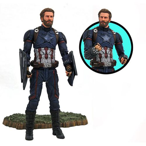 Картинки по запросу Marvel Select Figures - Avengers 3 Infinity War Movie - Captain America